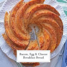 Bacon Egg And Cheese Breakfast Bread Make Ahead Breakfast Recipe