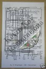 items in kevin kay aston parts shop on aston martin db2 enlarged laminated wiring diagram