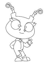 Rob Robot Coloring Pages For Kids