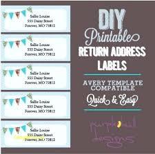 Free Return Address Label Templates Per Sheet Wedding Labels ...