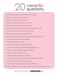 20 Questions Date Game