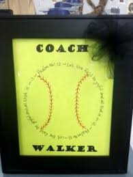 items similar to personalized coaches or player gift for softball baseball on etsy