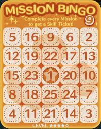 Tsum Exp Score Chart Tsum Tsum Mobile Game Bingo Card 9 Missions At Tsum Tsum Central