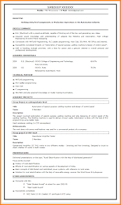 Engineering Fresher Resume Format Free Resume Example And