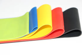 1 Set 5 Color <b>Yoga Resistance Bands 5</b> 40 Lbs Rubber Band Indoor ...
