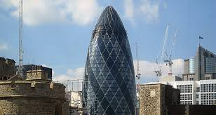 architectural buildings. Gherkin Architectural Buildings