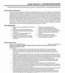 933 Mental Health Resume Examples In California Livecareer