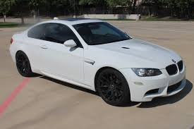 BMW 5 Series bmw m3 in white : Beautiful White E92 Bmw M3 Coupe V8 With Black Rims And Carbon ...