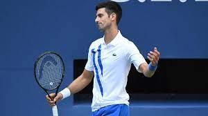 The famous tennis expert Novak Djokovic ...