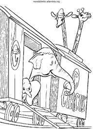 Dumbo Da Colorare Mondo Bimbo