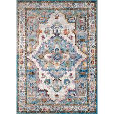 united weavers rhapsody kent cerulean 8 ft x 11 ft area rug