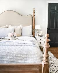 cottage bedroom design. A Drab Bedroom Gets Sophisticated Makeover Using Clearance Items And Thrift Finds For Masculine / Feminine Balance Styled Summer. Cottage Design