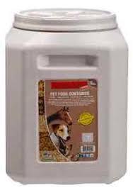 Image is loading Airtight-50-LB-Pet-Food-Container-Storage-Bin- Airtight 50 LB Pet Food Container Storage Bin Animal Dog Cat Large