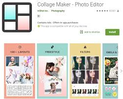 top 5 free collage making apps for android