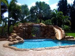 Diy Pool Waterfall Interior Pleasant Swimming Pool Rock Waterfalls Kits Fountains