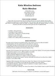 Experienced Home Health Aide Resume Template Resident Aide