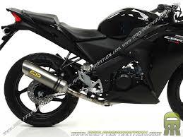 moto 125cc. muffler arrow racing street thuder motorcycle honda cbr 125cc 4t r from 2011 moto