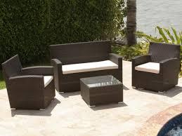 brown set patio source outdoor. Buy Source Outdoor St. Tropez 4 Piece Lounge Set Brown Patio R