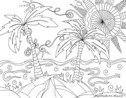 Small Picture Beach Coloring pages Doodle Art Alley