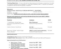 Resume Language Skills Resume Language Skills Sample And Excel Proficiency Levels Levels Of
