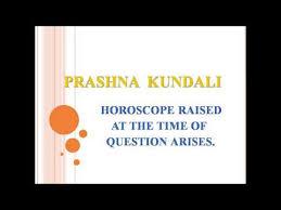 Prashna Kundali In Astrology Raaj