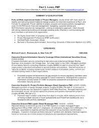 Best S Of Portfolio Manager Resume Example Project Resume Portfolio
