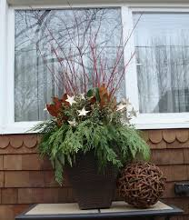 Christmas Urn Decorations For Outdoors 100Christmas Decorating Ideas Outdoor Urns Decoration Ideas 2