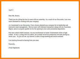 11 Example Interview Thank You Letter Precis Format