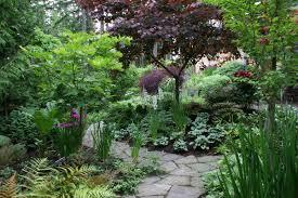 Small Picture Shade Garden Designs Garden Design Ideas