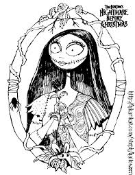 Small Picture nightmare before christmas coloring pages Bing Images Holiday