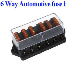 6 way fuse block holder box suits auto blade fuses buy blade 6 way fuse block holder box suits auto blade fuses