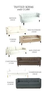 best sofas under tufted sectional sectionals 1000 dollars