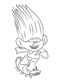 Trolls To Download For Free Trolls Kids Coloring Pages