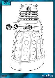 Small Picture Official Doctor Who Tumblr Doctor Who Colouring In Packs arent