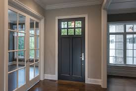 front entry wood doors at glenview