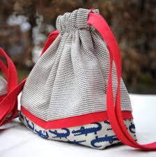 Drawstring Bag Pattern Free