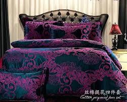 um image for european bedding sets dark purple bedding cover set brand bed set bedspread king