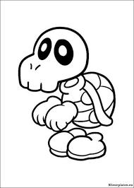 Super Mario Bros Kleurplaat 15478 Kleurplaat