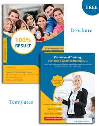Education Brochure Templates Education Psd Brochure Templates