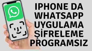 IPhone X Whatsapp Uygulamasını Şifreleme Şifre Koyma - TeknoHall - Yeni  Nesil Teknoloji Çözüm Rehberi