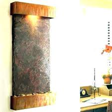 modern wall fountain mounted fountains outdoor best how