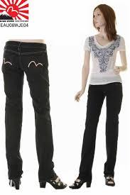 Evisu Jeans Euro Womens Slim Straight Evisu Jeans Daikoku Mark Embroidery Camomeitalia Mark Limited Edition