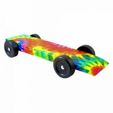 Pinewood Derby Cars Designs Fully Built Tie Dye Pinewood Derby Car
