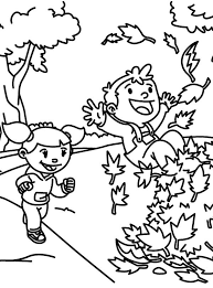 Small Picture Kids Love Autumn Fall Leaves Coloring Pages Batch Coloring