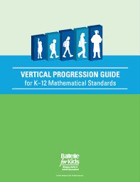 Common Core State Standards Vertical Alignment Charts Math Vertical Progression Guide Math K 12