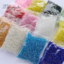 2019 1bag 2mm beads soild seed beads for bead cross stitch jewelry handmade diy needlework hand embroidery supplies craft from maoyili 34 68 dhgate com