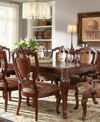 royal manor dining room furniture 9 piece set table 6 side chairs and 2 arm chairs