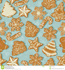 gingerbread background. Unique Gingerbread Download Seamless Pattern With Christmas Gingerbread In Vintage Style On  Tree Background Stock Vector Throughout Background U