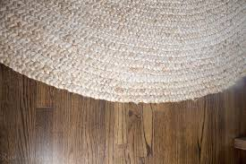 after loving my dining room rug so much i decided to make the leap and purchase another jute for the living room i chose an 8 10 chunky loop jute rug from