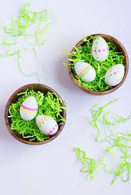 Diy Neon Polka Dot Sticker Easter Eggs Design Improvised
